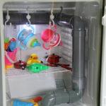 冷蔵庫除菌庫でおもちゃを除菌